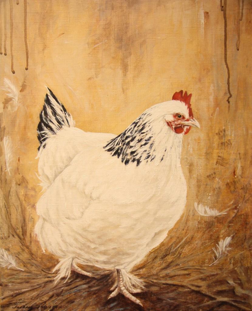 Hilda Sundheimer, acrylic on linen, 51x41cm SOLD