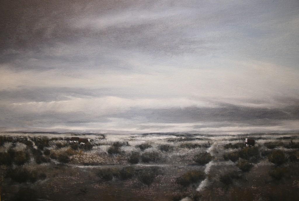 Paseo Cruzado, acrylic on canvas, 50x45cm